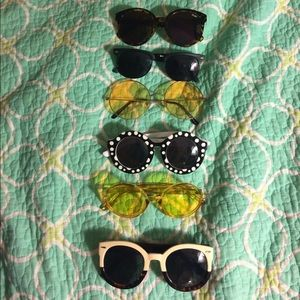 Quay, Happy Hour, Urban Outfitters Sunglasses Lot!